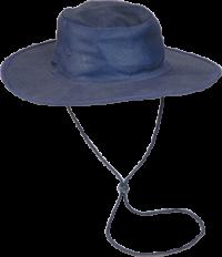 Navy Canvas Hat