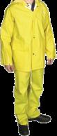Yellow PVC Rainwear Set