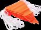 Orange Flag Bunting 30 metre rolls