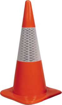 450mm Reflective Traffic Cone