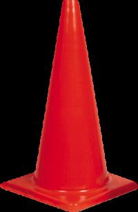 700mm Plain Traffic Cone