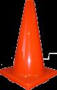450mm Plain Traffic Cone