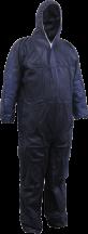 Navy Polypropylene Disposable Coveralls