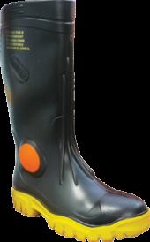 Foreman Black Steel Toe FWG902