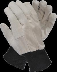 Cotton Drill Glove, Knitted Wrist