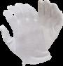 Interlock Polycotton Glove, Hemmed Cuff