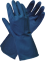 Blue Latex Silverlined Glove