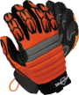 Spyda ® Orange Mechanics Gloves