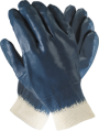 Blue Nitrile Fully Dipped Glove
