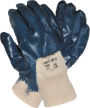 Blue Nitrile Open Back Glove