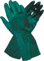 Green Nitrile Chemical Glove - 33cm