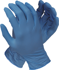 Blue Shield Powdered/Unpowdered Glove