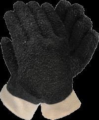 Black PVC Debudding Glove