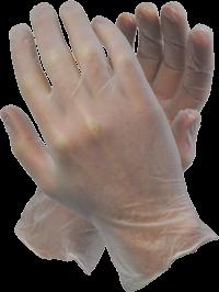 Clear Vinyl Powdered/Unpowdered Glove