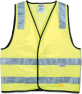 Yellow Safety Vest, Day & Night Use