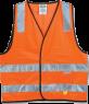 Orange Safety Vest, Day & Night Use