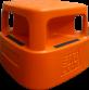 Orange Safety Step